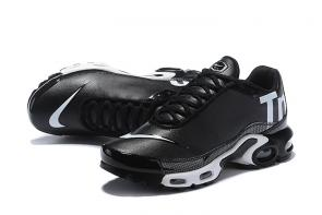 nike air max tn 3 pas cher leather tn black white